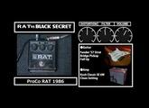 Mooer Black Secret VS ProCo Rat , Rat2 , Turbo Rat