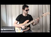 Funk Slap Bass on a Squier Vintage Modified Jazz Bass