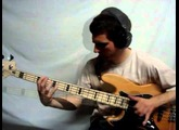 Fender Squier Vintage modified Jazz Bass test