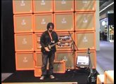 Orange Tiny Terror Combo at Frankfurt Musikmesse 2008 With Rob Chapman