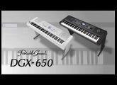 Yamaha DGX-650 Overview