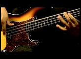 Squier Vintage Modified Precision Bass Fretless Demo
