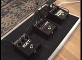 ProCo Rat distortion pedal shootout Turbo Rat You Dirty Rat & Rat 2 w Les Paul & Blues Jr amp