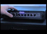 Ampeg Portaflex PF-800 Bass Amp Head Demo - Sweetwater at Winter NAMM 2013