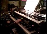 HAMMOND XK-1 SENDAI  Crosby  Japan  Live