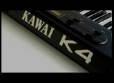 Kawai K4 16bit DIGITAL SYNTHESIZER - High Quality Sound-Demo