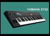 YAMAHA SY22 Vector Synthesizer 1990 | HQ DEMO