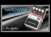 Guitar FX - Hardwire RV-7 ( Stereo Reverb ) ♫♪ HD