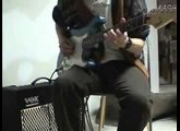 Demo of Squier Strat and Vox AD50VT modeling amp