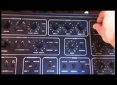 Sequential Circuits Pro-One Analog Synthesizer (1981) Sync Audio IN with Ableton TR707 sample