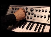 Moog Sub Phatty demo by Amos Gaynes|NAMM 2013|Switched On Demos (Direct Audio!)
