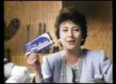 Pub chocolat Poulain au lait crémeux 1991
