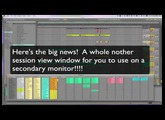 Ableton Live M4L device for multiple monitor performing
