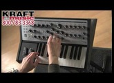 Kraft Music - Moog Sub Phatty Demo with Jake Widgeon