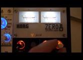 korg zero8 correct input level