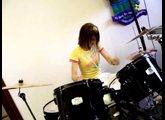 semi drumming @ church