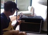 1965 Vox AC10 and Artinger Blondie Jr. Semi-Hollowbody Demo