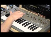 Roland SH 101 the internal sequencer HQ Sound