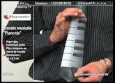 CRAVATE MUSICALE ''PIANO TIE''