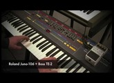 Boss TE-2 with a Roland Juno-106, SH-101 and RD-64