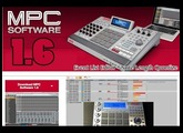 MPC SOFTWARE 1.6 First Look (Event List & Note Length/End Quantize) Demo