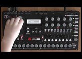 Elektron Analog Four : Tutorial by 7-year-old, creating Photographic by Depeche Mode