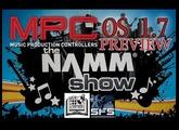 NAMM 2014 AKAI MPC SOFTWARE OS 1.7 PREVIEW.