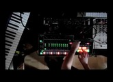"Test of the Roland TR-8 and TB-3, remake track ""Underground Resistance - Rainbows Over Paradise"""