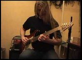 Personal fretless guitar song on Surfreter