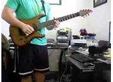 Fusion Type Jam  Carvin 7 String - Zoom G9 - Enrique Romero