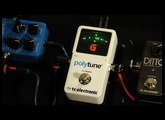 TC Electronic Polytune II Tuner Demo with Russel Gray