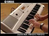 Yamaha PSR-E213/E313: J. Wolf (stereo)