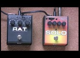 Can You Get A Solo Rat To Sound Like A Rat 2? Proco Rat 2 Distortion Pedal Vs Solo Rat