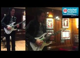 Steve Vai au Hard Rock Café Paris le 16 mai 2014