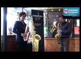 Démonstration de Takahiro Miyazaki et de Michael Cheret chez Michel Musique