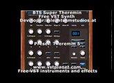 BTS Theremin - Free VST synth - vstplanet.com