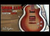 """Guitar - GREMILLET Les Paul """"Custom Shop"""" - 2014"""