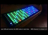 LinnStrument Cell Highlighting for Teaching Aid and Eye Candy