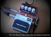 HardWire DL-8 Delay/Looper: In stereo with two amps.