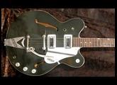Vintage Guitar Club : GRETSCH G6104 Green Rally de 1968