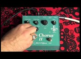 DLS Effects Ultra Chorus II guitar effects pedal demo with Telecaster