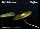"Zildjian A custom splash 10"" cymbal"