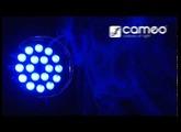 Cameo Light PAR 64 CAN - 18 x 8W QUAD Colour LED PAR Can RGBW