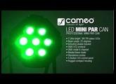 Cameo Light STUDIO MINI PAR CAN - 7 x 3 W TRI Colour LED PAR Can RGB