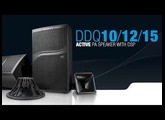 """LD Systems DDQ Series  - 10"""" / 12"""" and 15"""" Touring Class Powered PA Speakers with DSP"""