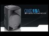 """LD Systems OXID 15 A - 15"""" powered PA Speaker with DSP"""
