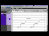 Altering Pitch with Melodyne Editor