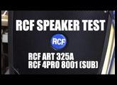 RCF Speakers & Subs