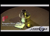 Pangolin DiscoScan 2.0 wide angle lens for laser show projectors | Laserworld