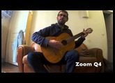 Sony HDR-MV1 vs Zoom Q4 : Guitar / Voice